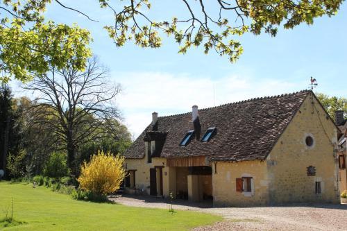 Gîte à l'ombre des chênes : Guest accommodation near Châteauvieux