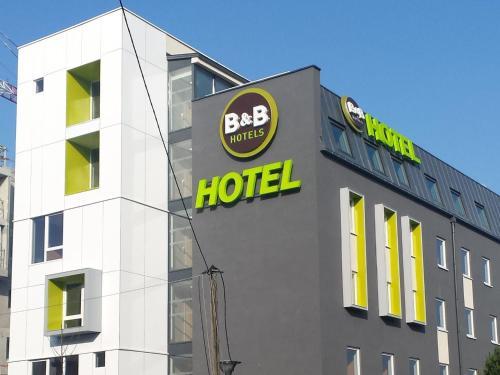 B&B Hôtel Paris Est Bobigny Université : Hotel near Bondy