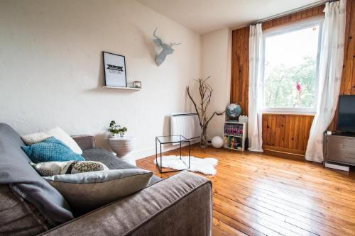 Appartement entier au calme : Apartment near Saint-Côme-d'Olt