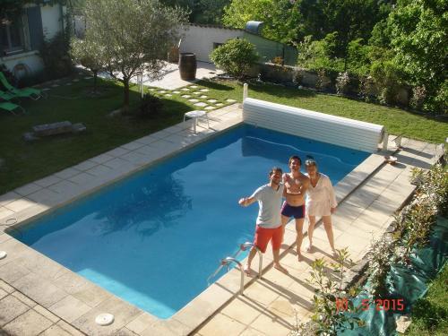 Villa avec piscine Forcalquier : Guest accommodation near Saint-Étienne-les-Orgues