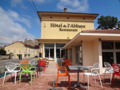 Hotel de l'Abbaye : Hotel near Azé
