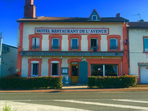 Hotel de l'Avenue : Hotel near Saint-Médard-en-Forez