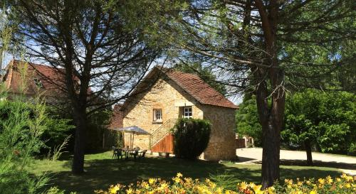 Le Gîte du Moulin du Boisset : Guest accommodation near Carennac
