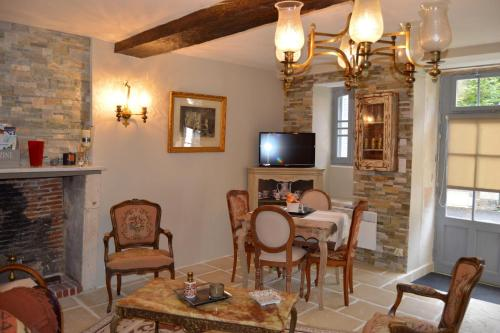 Haut du Blanc : Guest accommodation near Mérigny