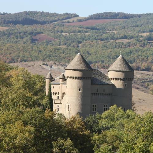 Chateau de Lugagnac : Guest accommodation near Peyreleau