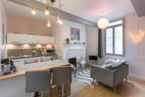 Ty Melaine : Apartment near Montreuil-le-Gast