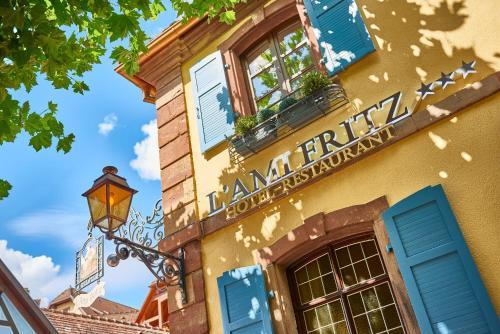 Hotel Restaurant L'Ami Fritz : Hotel near Heiligenstein