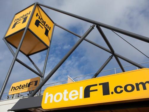 hotelF1 Cambrai : Hotel near Estourmel