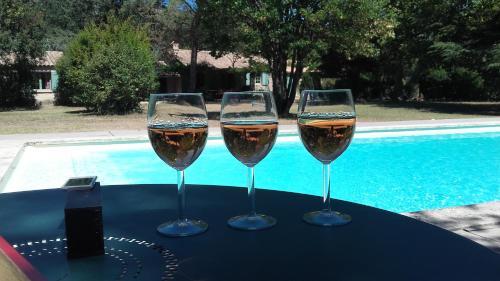 Maison Luberon grande piscine : Guest accommodation near Saint-Martin-de-Castillon