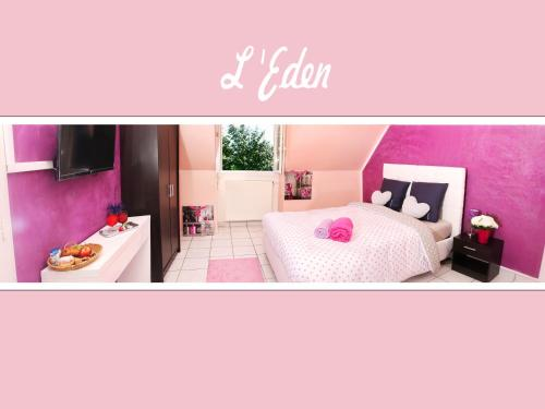 L'Eden Spa Orly Aéroport : Guest accommodation near Fresnes