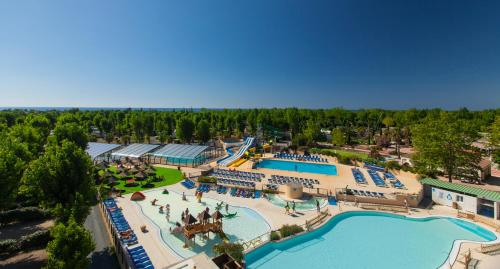 Camping Domaine La Yole : Guest accommodation near Vendres