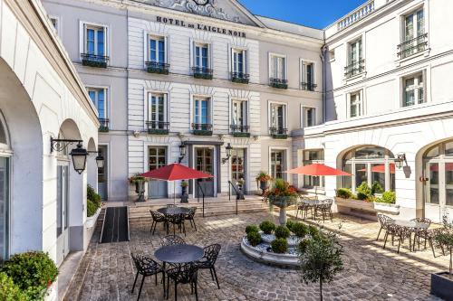 Aigle Noir Hôtel : Hotel near Écuelles