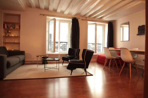 Marché Saint-Germain Apartment : Apartment near Paris 6e Arrondissement