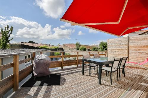 La terrasse : Guest accommodation near Saint-Gilles-Croix-de-Vie