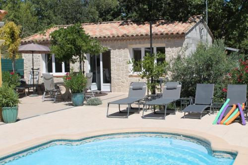 Le bonheur au soleil : Guest accommodation near Seillons-Source-d'Argens