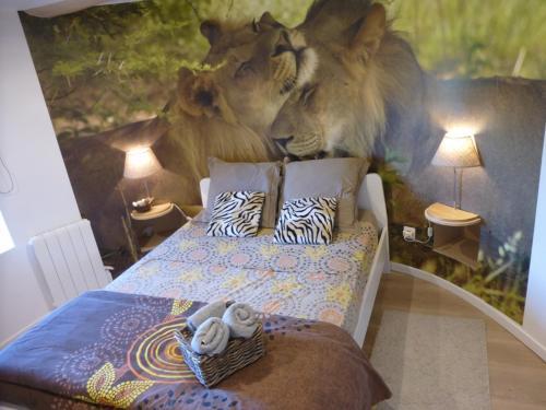 La Tour : Guest accommodation near Moriat