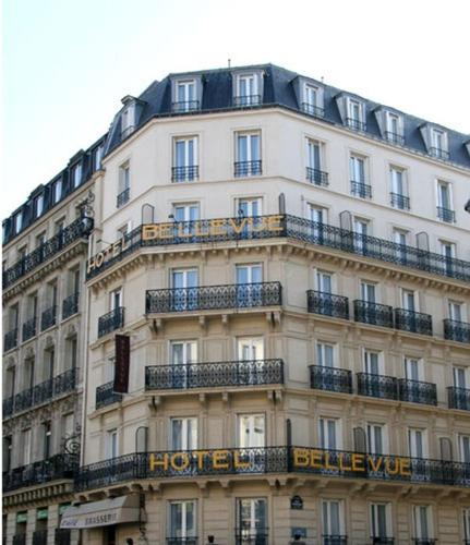 Hotel Bellevue Saint-Lazare : Hotel near Paris 8e Arrondissement