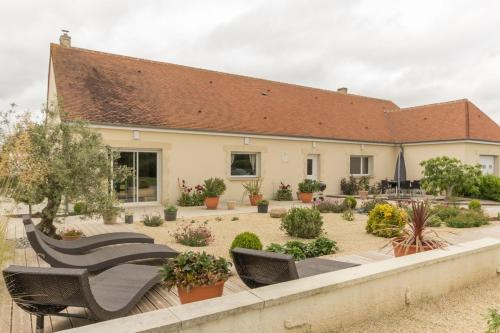 Le Domaine de Prune : Guest accommodation near Crouay