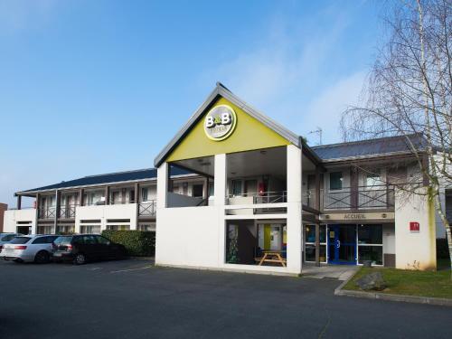 B&B Hôtel CHATEAUROUX Aéroport : Hotel near Neuillay-les-Bois