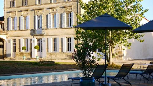 Chateau la Maronne : Bed and Breakfast near Landerrouet-sur-Ségur