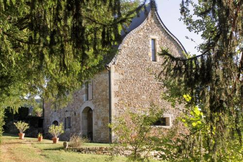 Domaine Le Broual : Bed and Breakfast near Montbrun