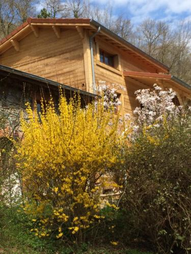 Les Sittelles de Bamboche : Bed and Breakfast near Aveizieux