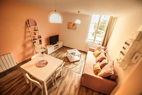 Le Millésime : Apartment near Dommartin-sous-Hans