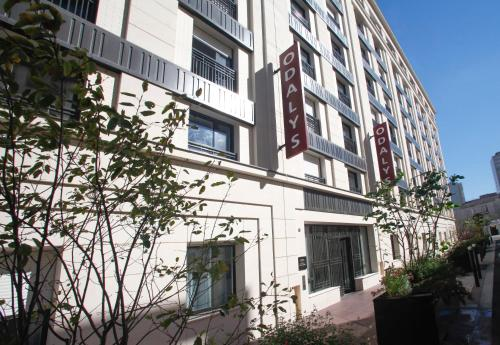 Odalys City Paris Levallois : Guest accommodation near Clichy