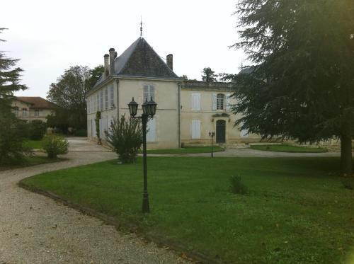 Chateau La Mothe Charente : Bed and Breakfast near Asnières-sur-Nouère