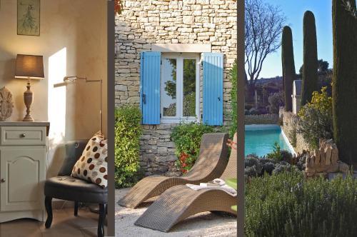 Cyprès du Paradis à Gordes : Guest accommodation near Gordes