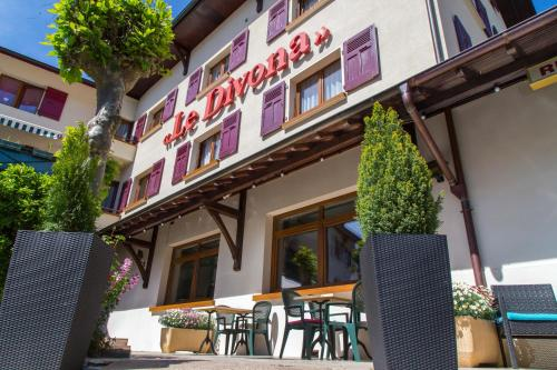 Hôtel Le Divona : Hotel near Grilly