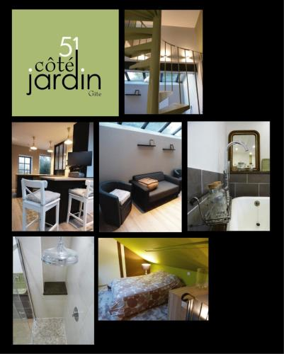 51 côté jardin : Guest accommodation near Reumont