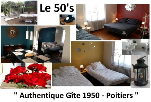 50's Authentique Gîte 1950 : Guest accommodation near Vouneuil-sous-Biard