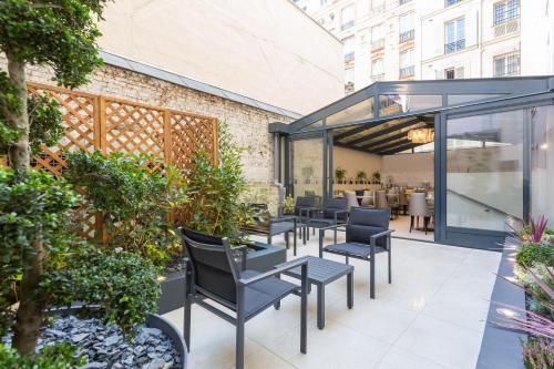 Jardin de Villiers : Hotel near Paris 17e Arrondissement