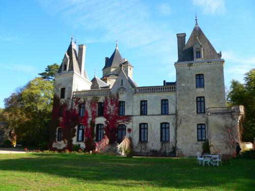 Demeure Château de Ternay : Bed and Breakfast near Mouterre-Silly