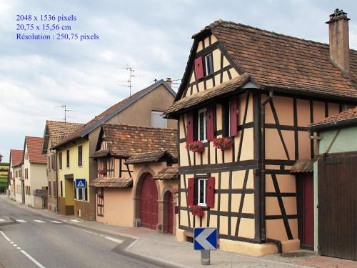 La Cour des Amis : Guest accommodation near Dingsheim