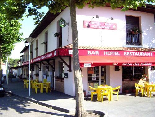 Hôtel Bar des Arènes : Hotel near Vicq-d'Auribat
