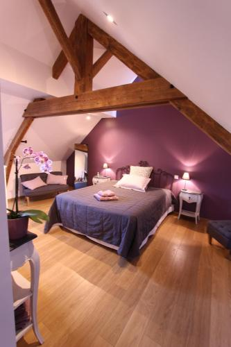 Chambre d'Hôtes Les Ronchettes : Bed and Breakfast near Neufmesnil