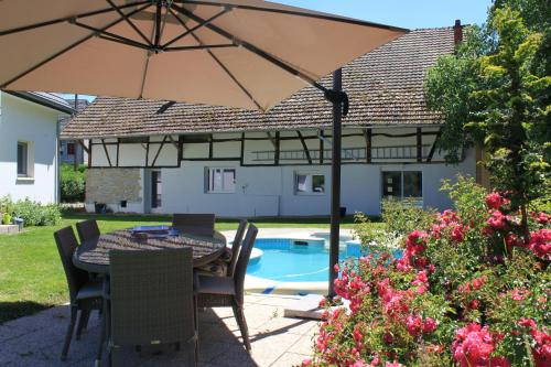 Le Clos Saint Morand : Guest accommodation near Altkirch