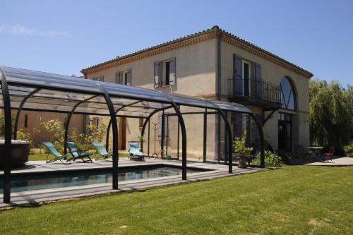 La Grande Oasis et l'Oasis - Gîtes et Spa : Guest accommodation near Villaudric
