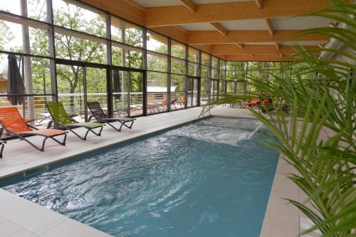 Résidence le Clos des Chênes : Guest accommodation near Le Recoux