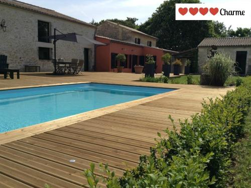 La Grange d'Aunis : Bed and Breakfast near Ballon