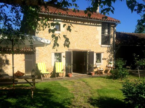 Holiday home La Bergerie 1 : Guest accommodation near Luzay