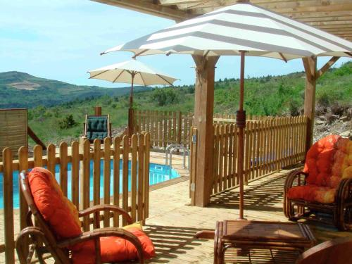 Holiday home Roquetaillade : Guest accommodation near La Serpent