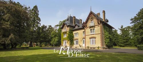 Le Manoir d'Elise : Guest accommodation near Saint-Germain-de-Fresney