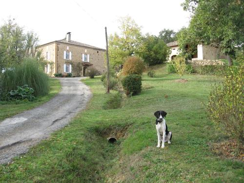 Le Marques : Bed and Breakfast near Montbernard