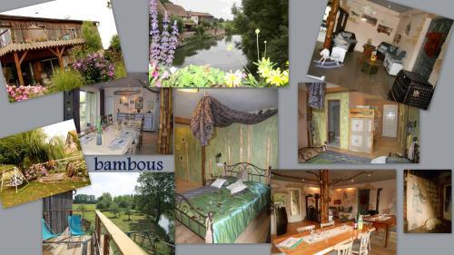 La Ferme du Pays d 'Eaux : Guest accommodation near Mussig