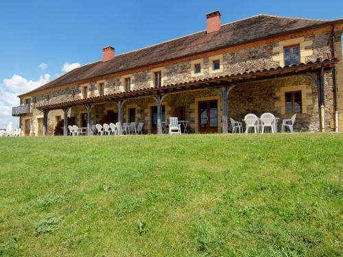Grange La Guichardie I : Guest accommodation near Salagnac