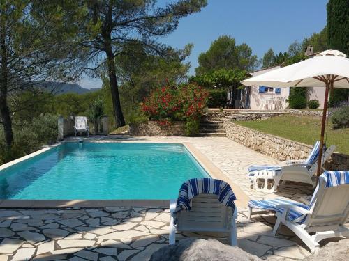 Lomandra : Guest accommodation near Sillans-la-Cascade