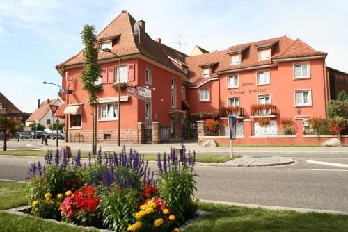 Hôtel Chez Felix : Hotel near Ostheim